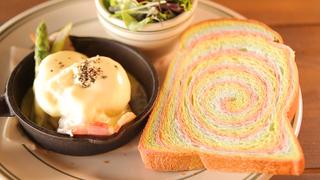 ふわふわ虹色トーストにキュン!鎌倉の海を一望できるカフェ「POST by HONEY」