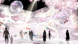 日本一早いお花見!美しい花の体験型アート展「FLOWERS by NAKED 2018 輪舞曲」