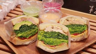 日本橋「ナチュラル ベーカリー カフェ」の自家製無添加で美味しいサンドイッチ3選