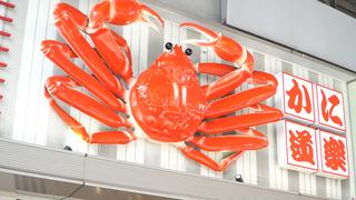 """尋找具抗老效果的 """"螃蟹"""" ,就到老字號螃蟹料理專賣店「蟹道樂」!"""