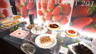 少女心爆發  新大谷幕張酒店的豪華「草莓自助吧」滿足度超高之甜點3選
