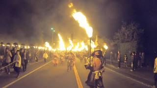 長崎県で行われる年に一度の武者行列「観櫻火宴」が圧巻だった
