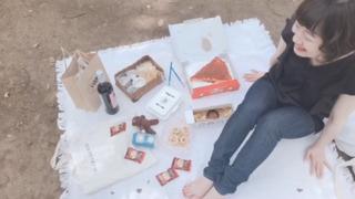 まったり代々木公園でピクニック