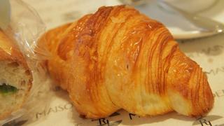 パリの最高賞クロワッサンが食べられるパン屋さん「Maison Landemaine Tokyo」