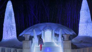 冬季限定的冰之街登場!能享受夢幻氛圍的TOMAMU「Ice Village」