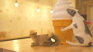 使用口味堪稱一級品的獲金牌的鮮乳製成、「LAITIER」的濃醇霜淇淋!