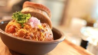 「Chili Parlor 9」のチリの食べ方色々!玄米ご飯orコーンブレッドorブレッドボールから