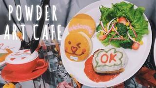 【原宿】世界初!自分でラテアートが描ける「POWDER ART CAFE(パウダーアートカフェ)」