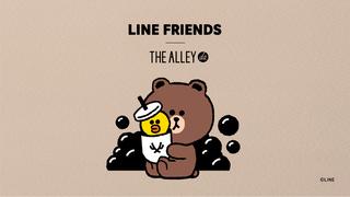 ティーストア「THE ALLEY」とLINEとのかわいいコラボタピオカドリンク