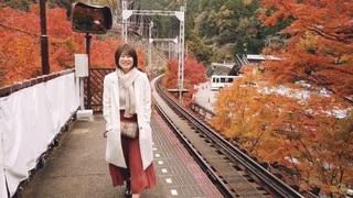 秋の京都!もみじのトンネル & 貴船神社
