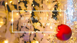 【イルミネーション】静岡御殿場高原時之栖「ひかりのすみか」幻想的なヒカリの空間