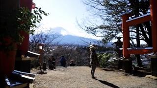 インスタで話題の富士山が見える神社