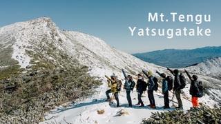 【vlog】初冬の雪を感じて 冬山初心者向け登山「天狗岳」