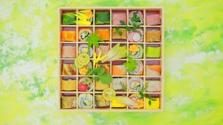 簡直就是珠寶盒!帶著令人驚呼連連的「賞花壽司捲便當」去賞花吧!