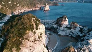 『白崎海洋公園』〜白い岩が並ぶ独特の景観〜