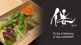ヘルスケア創作和食レストラン『倭 西麻布』がテイクアウト&デリバリー販売を開始!