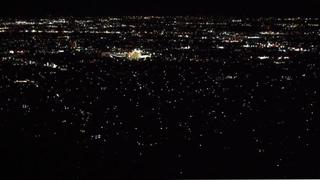 千代田湖からの夜景~ランチは山梨カフェで~