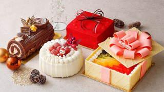 """""""クリスマスギフト""""をテーマにした2020年のクリスマスケーキが横浜・ホテルニューグランドより登場!"""