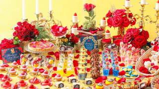 ストリングスホテル八事 NAGOYAにて、デザートブッフェ「プリンセススイーツコレクション~美女と野獣~」開催!