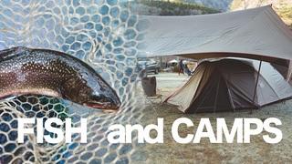 【Fish and Camps】栃木県那須塩原市で釣りと冬のキャンプ DAY1