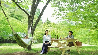 新鮮な空気を感じられる森でテイクアウトランチを楽しむプラン  「のびのびピクニック」を販売