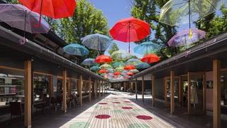雨の日が楽しくなるイベント 「軽井沢アンブレラスカイ2021」開催