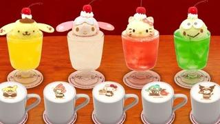 サンリオカフェ 池袋店に「喫茶サンリオ」デザインのドリンクメニューが登場!
