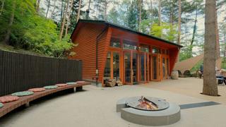 在「虹夕諾雅 富士」所推薦的營火休憩區體驗夢幻的豪華露營