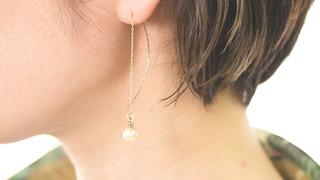 「Makers' Base Tokyo」で体験できる真珠のピアスの作り方