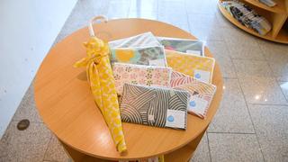 讓塑膠傘與眾不同!原宿「MUSUBI」以風呂敷製作的輕便「傘套」
