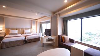在交通便利的「新橫濱王子大飯店」享受頂級套房