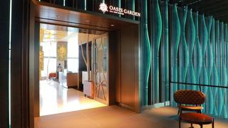 在可以眺望東京的「All-Day Dining OASIS GARDEN」享受環地中海料理