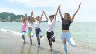 海の家「Sea Room lynn Beach Club」で楽しむSUP&ヨガ