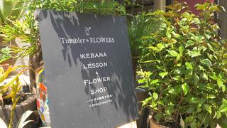 スタイリッシュな花空間「Tumbler & FLOWERS」 感性を磨くいけばな体験