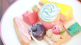 「大阪瑞吉酒店」的時尚可愛甜點 Buffet 「Parisienne」