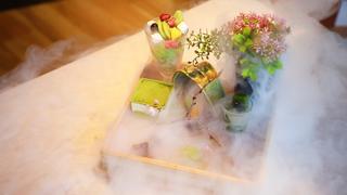 開けてびっくり!京都「茶筅」で食べる抹茶の玉手箱スイーツ