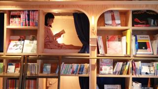 在池袋可住宿的書店「BOOK AND BED TOKYO」 體驗與書共眠的幸福時刻