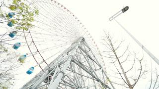 世界初イルミネーション。大阪のデートスポット「天保山大観覧車」