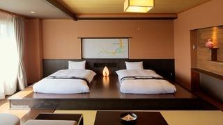 限定1間?!「星野渡假村 青森屋」附有半露天浴室的高級套房