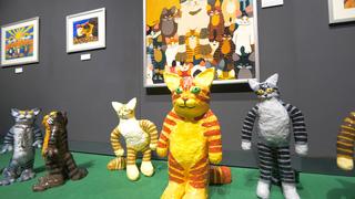 ねこに癒される展示イベント『「ねこ画展」~ねこ画から生まれた愛おしい世界~』