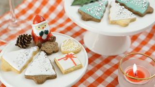 パーティーがもっとフォトジェニックに! 可愛い「クリスマスツリー」のアイシングクッキー