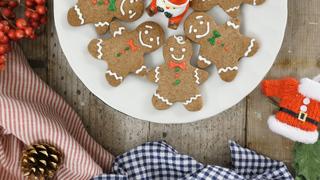 クリスマスパーティーにおすすめ! キュートな「ジンジャーマン」のアイシングクッキー