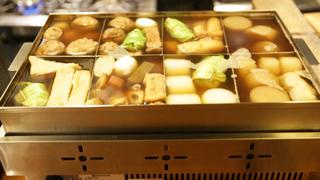 世界遺産・二条城すぐそば「チドリアシ」で京風おでんを肴に日本酒を楽しむ