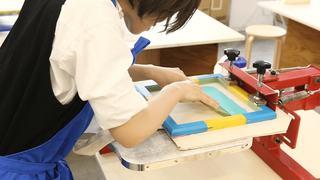 大阪「レトロ印刷JAM」シルクスクリーンでオリジナル作品作り