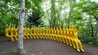 四季の景色と芸術が魅せる屋外アート「札幌芸術の森野外美術館」