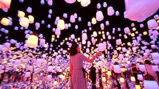 森ビル×チームラボが手掛ける新感覚「デジタルアートミュージアム」
