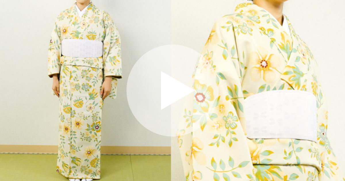 着物の着付けのコツとは?一人で簡単にできる基本の着方 | ルトロン
