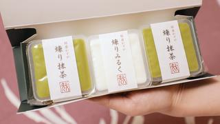 わずか一坪の予約完売店。有楽町「銀座 かずや」の高級八女抹茶を惜しみなく使用した煉り菓子