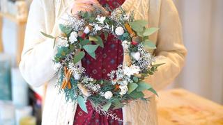 クリスマスを特別に。「ECSERi」で学ぶ、華やぎリースの作り方