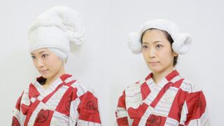 タオルのかわいい巻き方!お風呂上がりの濡れた頭を簡単アレンジ